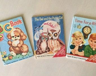 Vintage Tiny Books! - Children's Books- 1950's