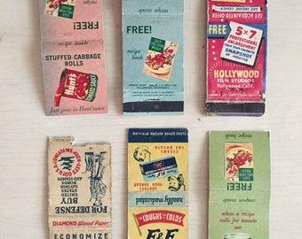 Vintage Matchbook Lot #4 - Crafts - Journals - Smashbook