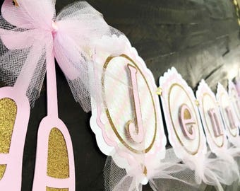 Ballet Birthday Party Banner, Ballet theme party decorations, Girls Birthday Ideas, Ballet Birthday Party, birthday party ballet decoration