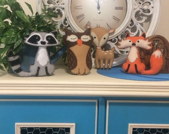 Woodland Animal Stuffies