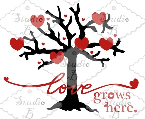 Download Love Grows Here SVG Cutting File