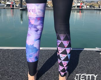 AIMEE - BELIEVE Leggings, SUP, Stand up Paddle, Surf, Kite, Run, Cycling, Swim, Yoga, Play, Walking, Active, Pants, Pole, Dance, Weights
