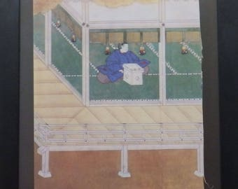 Tales of Genji, Oriental Art, Oriental Wall Decor, Murasaki Shikibu, Miyeko Murase, David A. Loggie, Magazine Article,
