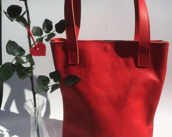 Leather Tote Bag - Tote Leather bag