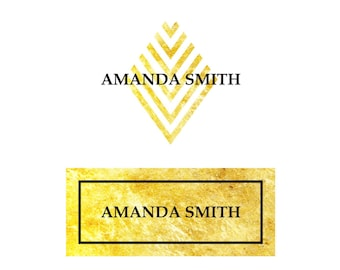 Professional Logo, Gold Logo, Custom Logo Design, Logo Design, Logo, 3 Concepts, Sophisticated Logo, Ooak Logo, Unique Logo, Best Logo