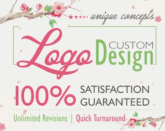logo, logo design, business logo, floral logo, gold logo, professional logo, unique logo, ooak logo, photography logo, boutique logo