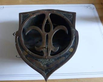 Antique Vent Cover Art Nouveau, French