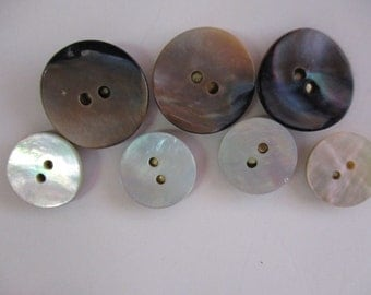 Mother of Pearl Button Push Pins