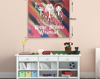 Harry Potter Personalized Gift. Harry Potter Birthday Present. Harry Potter Party activity. Harry Potter Birthday Gift. Harry Potter