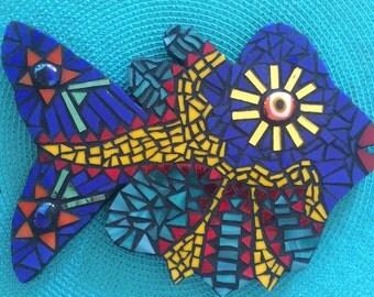Sunny Eye Mosaic Fish