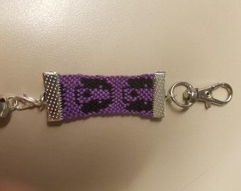 Purple Puppies KEYCHAIN