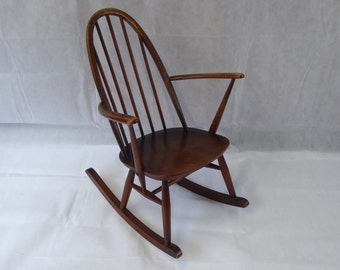 NOW ** SOLD** Vintage Ercol Childs Rocking Chair