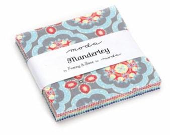 Manderley Charm Pack (Moda, Kate Spain, 5 inch charm pack, fabric)