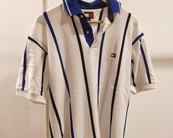 Vintage Tommy Hilfiger Striped Polo