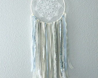 DreamCatcher Bohemian shabby blue, Khaki and liberty