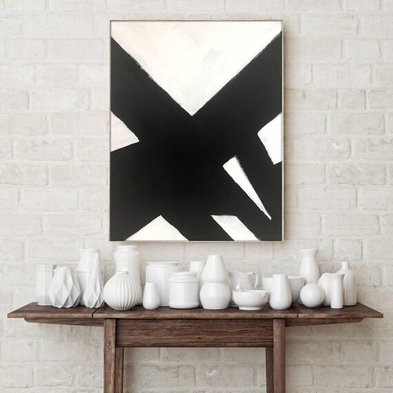 Black White Slash No. 3