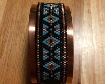 Southwest Motiff Copper Bracelet