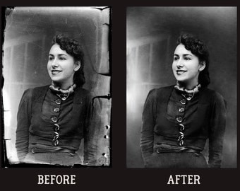 Photo Restoration | old | damaged | digital | retouch | retouching | restore