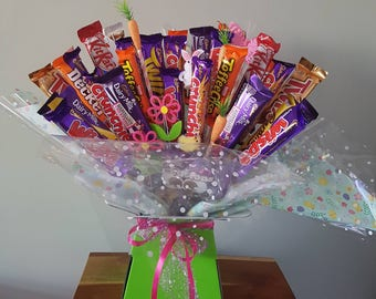 Chocolate bouquet hand made