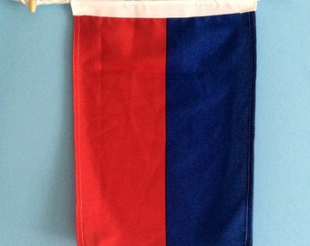 E Nautical Flag Letter Signal Flag Indoor/Outdoor Use