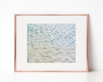 Clear Water Wall Art, Printable Art, Photography Print, Wall Decor, Wall Art
