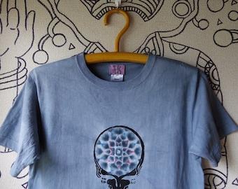TKHOME×GRATEFULDEAD mandala dyed tie dye T shirt M