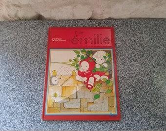 Old book: EMILIE - Émilie, Domitille Pressensé, 1984 island