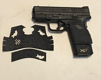 Spingfield XDs 45 Textured Rubber Grip Enhancemet Wrap Gun Parts