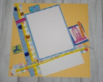 Easter Scrapbook Page