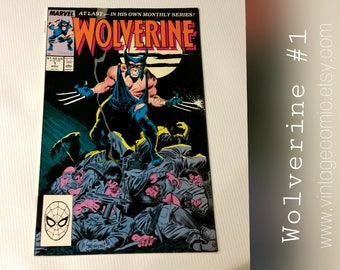 Wolverine Issue #1 | Marvel Comic Book 1988