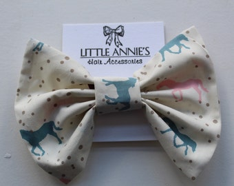 Giant Bow Hair Tie | Pony Print
