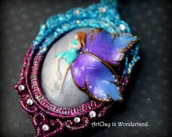 Fairy Tail, fairy wing necklace sautoir