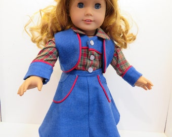 "Western Doll Clothes for American Girl Doll & Other 18"" Dolls"