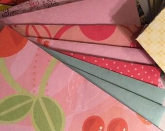 Set of 20 Handmade Envelopes