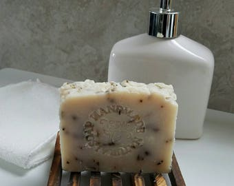 All Natural Soap / Jasmine Rosemary / Artisan Soap / Rustic Soap / Hot Process Soap / Coconut Oil / Vegan / Palm Free / Sustainable