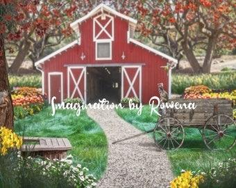 Spring Farm- 80x60