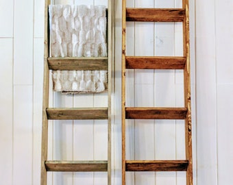 Wooden Blanket Ladder (5 ft.)