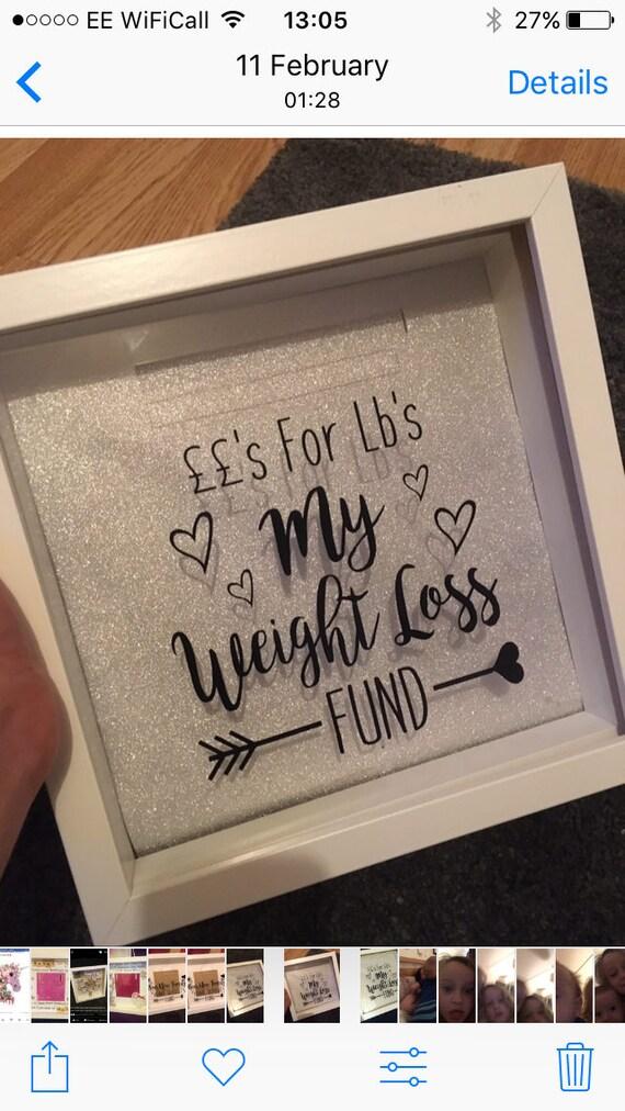 Money box, fund frame, slimming world, weight whatchers ...
