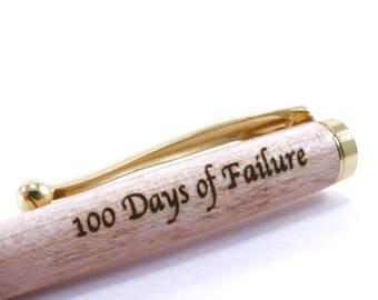 100 Days of Failure - Trump Gag Gift - Trump 100 Day Gift - Dump Trump Gift - Anti Trump Pen