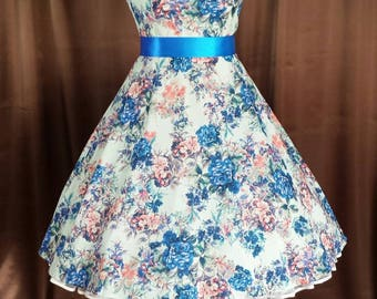 Rockabilly 50s prom prom wedding dress
