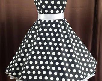 Rockabilly 50s prom prom confirmation dress