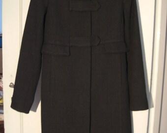 Beautiful 90 's winter jacket by Marlene Birger size 36 anthracite grey