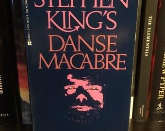 Danse Macabre Stephen King Vintage Horror Book 80s