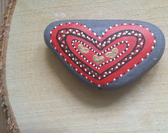 Beautiful Hand Painted Heart