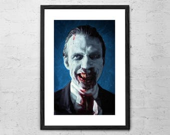 Doom Head - Rob Zombie 31 - Painting - Horror Art - Movie Poster - Halloween - Horror Decor - Horror Movie - Rob Zombie - Dark Art - Horror