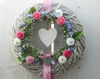 Wreath * heart * 37cm