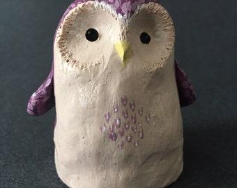 Purple owl friend