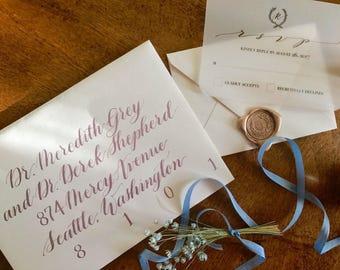 Envelope Addressing- Grace Style