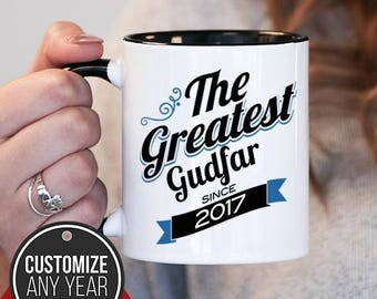 The Greatest Gudfar Since (Any Year), Gudfar Gift, Gudfar Birthday, Gudfar Mug, Gudfar Gift Idea, Baby Shower, ,