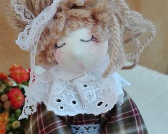 Rag doll, country chic, shabby, pigottina, handmade, hand made, romantic, furniture